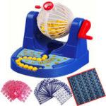 Оригинал Мини-лотереяЛотереяРотариигральнаямашинадля детей Семьи Fun Puzzle Desktop Party Toys