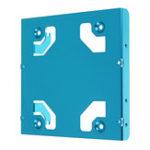 Оригинал JEYI K106 All-aluminum Два 2,5-дюймовых до 3,5-дюймовых настольных жестких дисков кронштейнов SSD кронштейн Frame Caddy