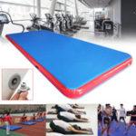 Оригинал 236x78x7.87inchНадувнойвоздушныйследTumblingGymnastics Mat Фитнес Обучение Yoga Pad