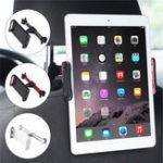 Оригинал Универсальное вращение на 360 градусов Авто Подставка для подголовника подголовника для iPhone Samsung Tablet