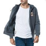 Оригинал Толстые тепловые кашемировые свитера с капюшоном Zip Up Casual Coat