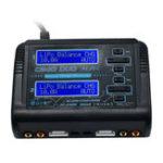 Оригинал HTRC C240 DUO AC 150W DC 240W 10Ax2 Двухканальный RC Батарея Баланс зарядное устройство