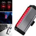 Оригинал XANESTL03ВелосипедTaillight300hLong Life 4 режима Водонепроницаемы Широкоугольный ночной свет USB-зарядка