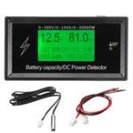 Оригинал 150V20ALithiumБатареяНапряжениеАмперметр Батарея Емкость DC Power Meter Detector