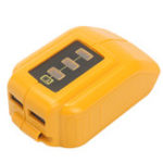 Оригинал USB Mobile Батарея Адаптер зарядного устройства для Dewalt 10.8v 20v Slide DCB184 DCB090