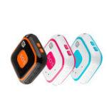Оригинал RF-V28 Mini GPS трекер APP WIFI Two Way Call Realtime LBS Locator SOS Тревога GSM Голос Монитор