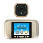 Оригинал P02 3,2 дюйма LED Дисплей Сплав ночного видения 720P камера Peephole Viewer Визуальный дверной звонок 160 ° Угол