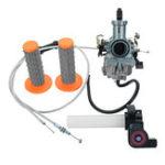 Оригинал 30 мм карбюратор + видимый Twister + кабель + захваты для 200cc 250cc мотоцикл Dirt bike