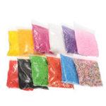 Оригинал 12 Pack пенополистирола пенопласт для слитков мини-бусины DIY Craft Kids Toy 12 цветов