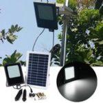 Оригинал Солнечная Powered 120 LED PIR Motion & Light Датчик Flood Light Водонепроницаемы На открытом воздухе Сад Безопасность Лампа