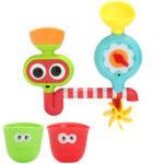 Оригинал Baby Kids Cartoon Faucet Spout Spray Shower Water Bath Toys Обучающий комплект игрушек для развлечений