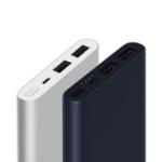 Оригинал Оригинальный Xiaomi 10000mAh Power Bank 2 Dual USB Quick Charge 3.0 Портативное зарядное устройство для мобильного телефона