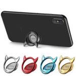 Оригинал Cafele Devail Shape Finger Ring Держатель Телефон Lazy Holder Mount для iPhone X 8 Samsung S8 Xiaomi 6