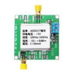 Оригинал DC5V AD8317 Модуль RF Power Meter Логарифмический детектор Сигнал контроллера мощности Усилитель Fm HF VHF