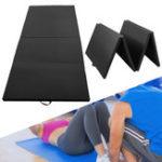 Оригинал 118×47.2×1.97inchGymnasticsMatHomeGymСкладные панели Спорт Yoga Упражнение Tumbling Фитнес Pad