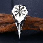 Оригинал Unisex Viking Amulet из нержавеющей стали Кулон Ожерелье