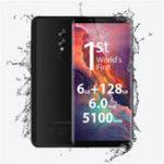 Оригинал UMIDIGIS2PRO6,0дюймовЛицо ID 5100mAh 6гигабайт RAM 128гигабайт ПЗУ MTK Helio P25 2.6GHz 4G Смартфон