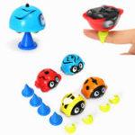 Оригинал Набор из четырех ПК Finger Spinning Toy Gyro Физическая инерционная механика Игрушка