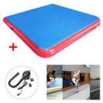 Оригинал 78.7×78.7×3.94inchНадувнойматрасНаоткрытомвоздухе Спортивная гимнастика Фитнес Обучение Yoga Pad