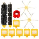 Оригинал 11шт Замена Щетка Фильтр Набор Для фильтров серии iRobot Roomba Aerovac700 Щетка Папка Набор