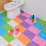 Оригинал DIY Ковровые конфеты Цвета Пластиковые коврики для ванной Массаж Ковровое покрытие