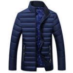 Оригинал Мужская зима Толстый теплый стеганый мягкий изолированный куртка