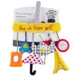 Оригинал  Сова Новорожденная детская коляска Bed Music Bed Bells Кулон Плюшевые игрушки Soft Ранние образовательные игрушки