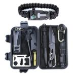 Оригинал На открытом воздухе Спорт SOS Экстренное выживание оборудование Набор для тактической охоты Инструмент с самопомощи Коробка