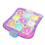 Оригинал Дети Танцы Электронные танцы Playmat Музыка 5 уровня Touch Чувствительный Мат Игрушка подарок