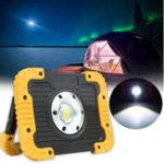 Оригинал 30W750lm20LEDCOBWorkLight Аккумуляторный фонарь На открытом воздухе Кемпинг Факел фонаря аварийного фонаря