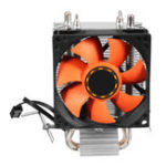 Оригинал 8cm CPU Cooler Бесшумный Вентилятор радиатора для LGA775 / 1156/1155 AMD / AMD2 / AM2 + AM3 / FM1
