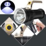 Оригинал Перезаряжаемый мощный LED фонарик Портативная рукоятка яркости Рыбалка Light Кемпинг Torch