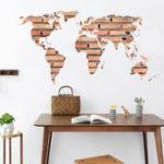 Оригинал DIYСъемныйстикерстеныArtWorld Map Mural Decal Room Home Decor