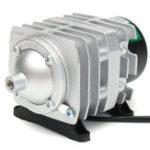 Оригинал 45 л / мин 25 Вт Электромагнитный воздушный компрессор Аквариум Воздух кислородного воздуха Насос Аэратор