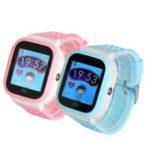 Оригинал Анти-потерянные дети Дети GPS трекер SOS Звонок Smart наручные часы Телефон для iphone X 8 / 8Plus Samsung S8