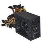 Оригинал 2000W ATX Gold Mining Power Supply SATA IDE 8 GPU для ETH BTC Ethereum