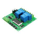 Оригинал DC AC 7V-27V Motor Reversing Module Solenoid Valve Pump Controller Double Two Channel Relay