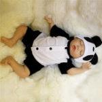 Оригинал Прекрасный 18inch Soft Силиконовый Vinyl Real Life Девочка Мальчик Ребенок Baby Новорожденный Baby Кукла