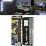 Оригинал Батарея Работает 2PCS SMD2835 5W PIR Motion Датчик Белый LED Газа для гардероба DC4.5V