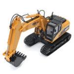 Оригинал 2.4G 15-канальный 15CH RC Экскаватор Fork Construction & Дистанционное Управление Toy Gifts