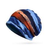 Оригинал Многофункциональная теплая шапочка Mens Printing Шапка