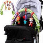 Оригинал 0-12M Детская кроватка Игрушечная коляска Rattles Seat Take Along Travel Arch Toys для Pram
