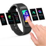 Оригинал Bakeey SMA-B3 0,96 дюйма IPS Цветной экран 3ATM Водонепроницаемы Кровяное давление Сердце Рейтинг Smart Watch