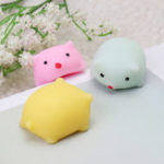 Оригинал Свинья Squishy Squeeze Cute Healing Toy Kawaii Collection Stress Reliever Подарочный декор