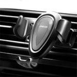 Оригинал Joyroom Gravity Linkage Авто Mount Auto Замок Подстаканник для переноски воздуха для мобильного телефона