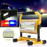 Оригинал Портативный 100W 100 LED Рабочий свет Перезаряжаемый На открытом воздухе 3 цвета пятно Кемпинг Наводнение Лампа