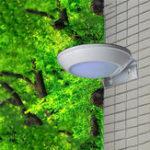 Оригинал 16 LED Солнечная Powered Radar Motion Датчик Настенный светильник На открытом воздухе Водонепроницаемы Security Street Лампа