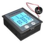 Оригинал AC 80-260V 100A Цифровое напряжение Измеритель энергопотребления Амперметр Вольтметр Трансформатор