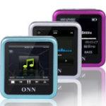 Оригинал ONN Q6 8GB MP3 1.5 дюймов TFT Записывающий видеоклип FM Дизайн WMA WAV Mp3 Музыкальный проигрыватель