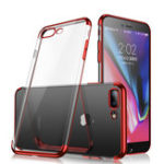 Оригинал Cafele Plating Transparent Soft ТПУ Чехол Для iPhone 7 Plus/8 Plus 5.5 ""